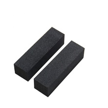 Black sponge Nail buffer blok <span class=keywords><strong>nagels</strong></span> bestanden Pedicure Care Nail Art tool