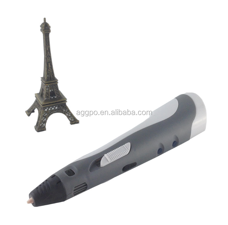 x 3D Pen Set Bundled with of PIA Bright Plastic Filament, New Awesome Design Model Printing Drawing 3D Pen with
