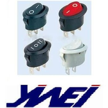 3 Terminals With Lamp Black Body 0 1 Marking Ellipse Rocker Switch Boat  Switch - Buy Terminal With Jacket,Electrical Switch Terminals,Illuminated  Boat