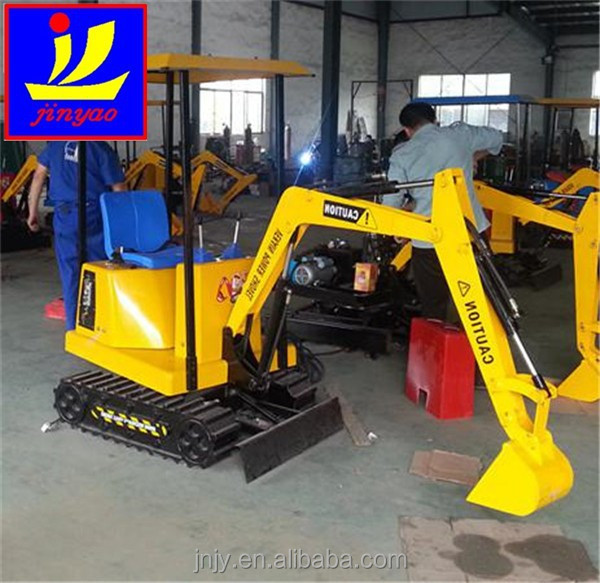 backhoe, Good quality coin operated <strong>game</strong>, Small new amusement kids toy excavator