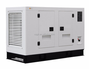 low noise level avr gas lpg electric generator 40kw 50kva with low installation cost
