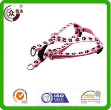 China manufacture Custom design pet basic promotional and comfortable reflective polyester dog collars and leashes