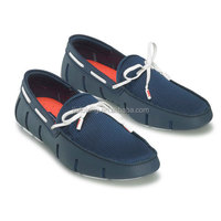 2017 Newest Design Best Quality Euro Popular Swims Loafer Boat Shoes Men