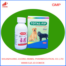 insecticide fipronil 0.25% dog flea treatment veterinary pet spray