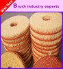 Factory processing of high quality nylon brush wheel, disc brush wheel, high quality grinding wheels eraser