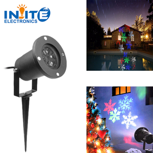 Decoration Waterproof Outdoor LED Christmas Lights Snowflake Projector led light