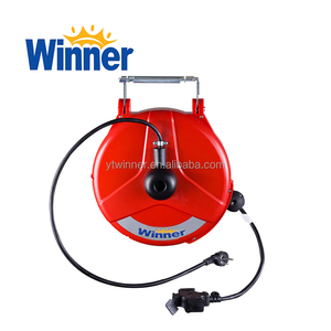 WE1515 15M Low Price Extension Electric Cord Reel Retractable Cable Reel