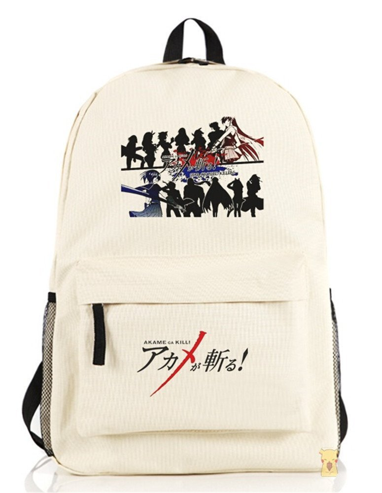 YOYOSHome Akame ga KILL! Anime Cartoon Rucksack Backpack School Bag