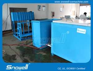 Snowell Industrial Multipurpose Ice Block Maker with different block sizes (1 ton - 50ton/day)