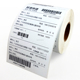 thermal paper rolls adhesive sticker type custom shipping label 4''X6''