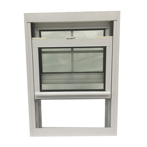 American Type PVC Double Hung Sash lift Up Vertical Sliding Window