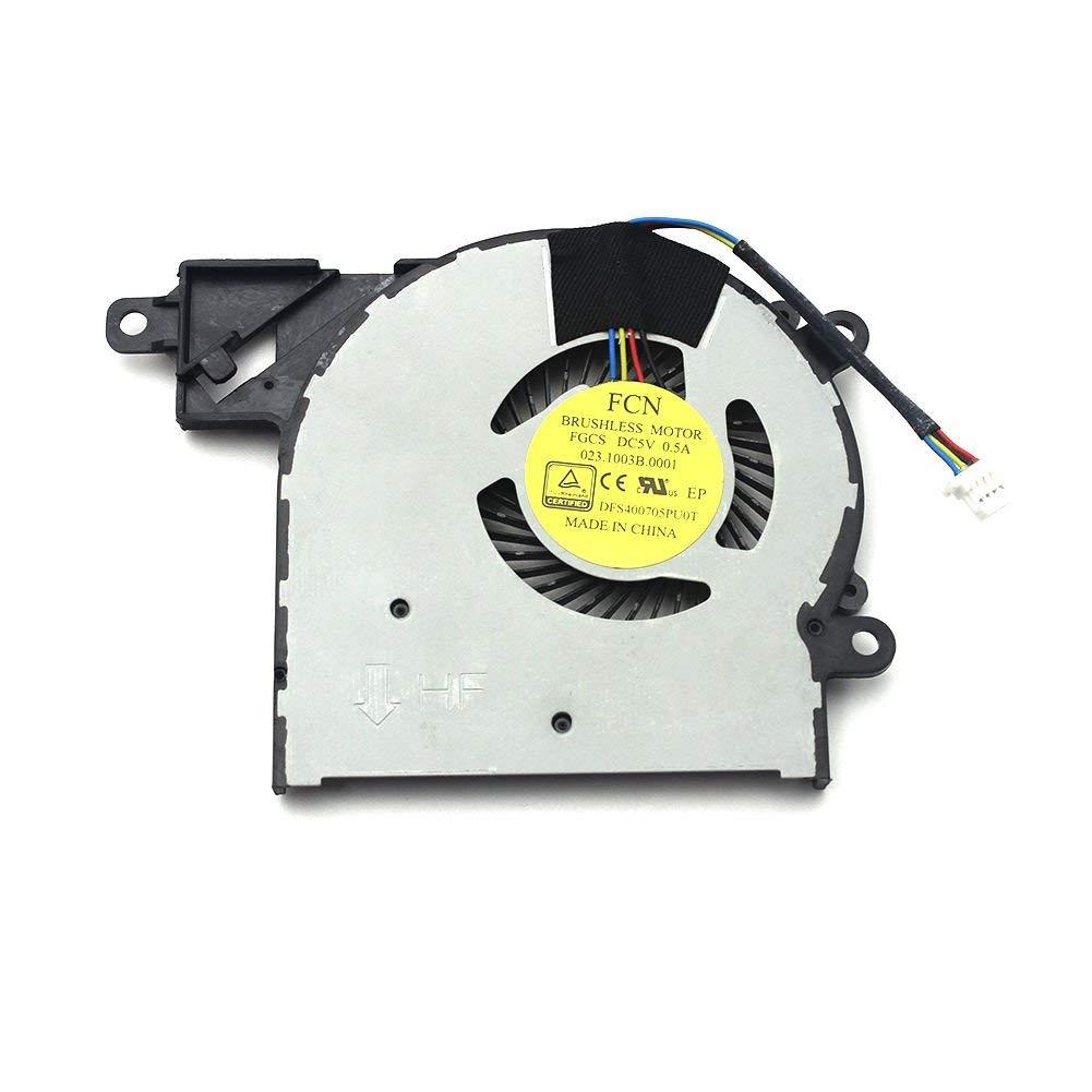 FixTek Laptop CPU Cooling Fan Cooler for HP Pavilion x360 13-s192nr