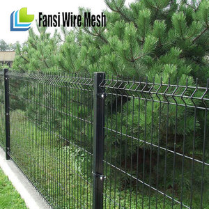 fence for Playground / Sports field Green color Ornamental Iron Fence Edging(guangzhou)