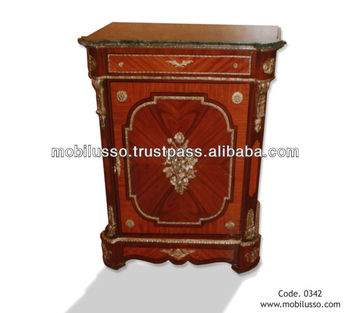 Nice French Antique COMMODE Style Louis XVI, Cabinet Antique Reproduction  Furniture