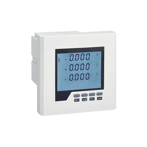 Intelligent Digital 3 Phase 4 Wire Ct Connection Electronic Energy Meter