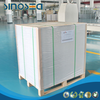 Hansol paper quality white coated gray back duplex board with low price