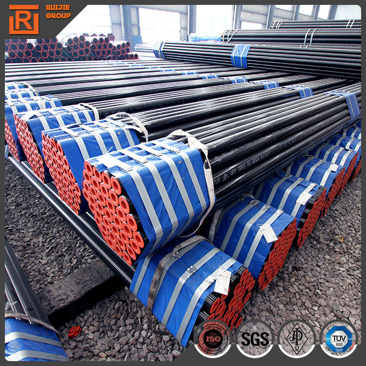 Sch40 api 5l x60 steel line pipe, hot rolled middle and high pressure boiler tube
