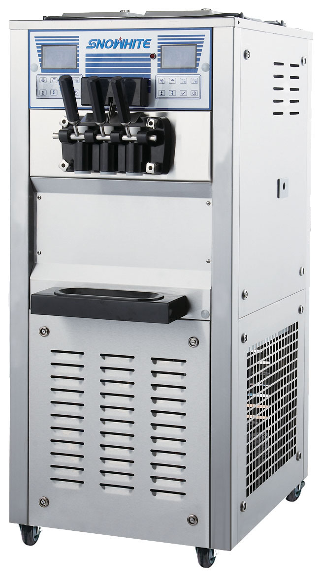 Commercial Soft Serve Ice Cream Machine With Air Pump