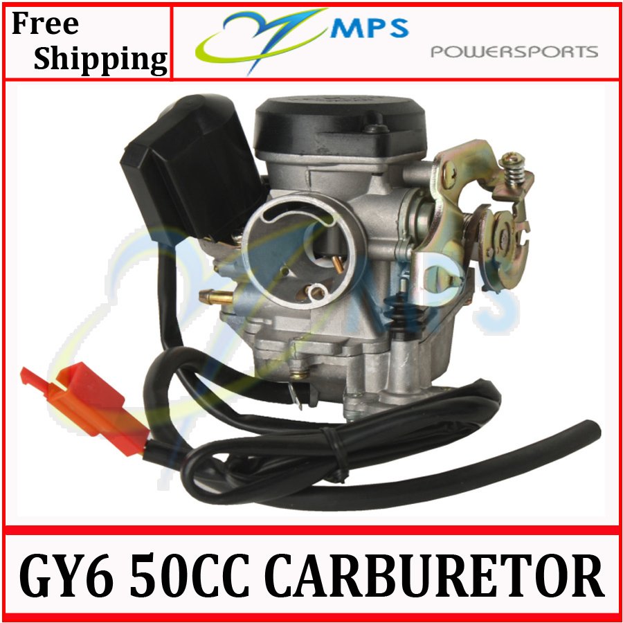 GY6 Scooter engine parts PD19J 19mm bore Carburetor for 50cc