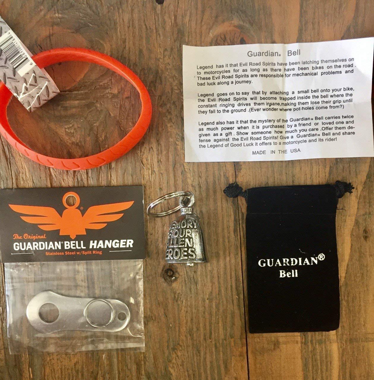 Guardian® Bell IN MEMORY (FALLEN) COMPLETE KIT W/HANGER & WRISTBAND