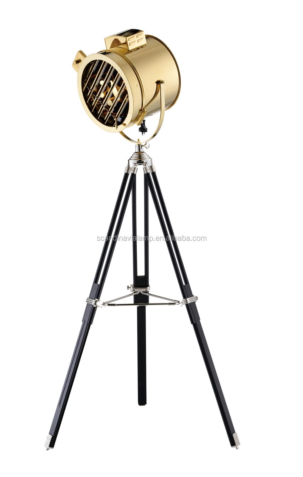 Vintage Retro Industrial Royal Master Sealight Floor Lamp