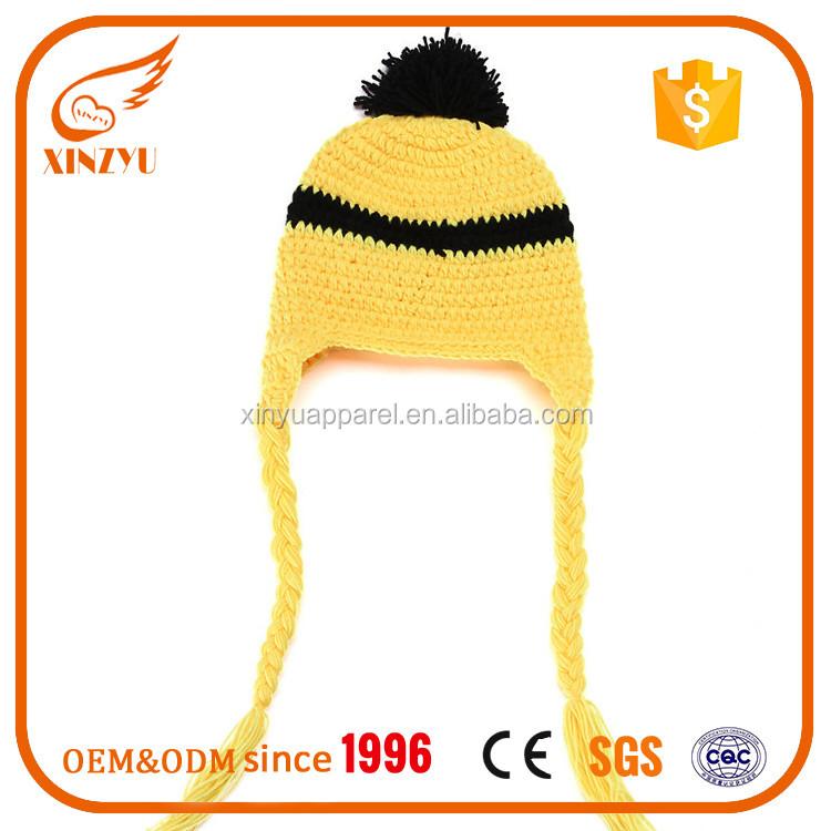 Catálogo de fabricantes de Amarillo Minion Gorro de alta calidad y ...