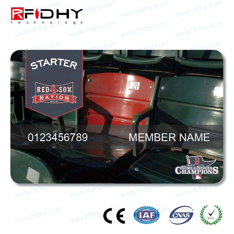 OEM Clear Frosted rfid ticket card for door access control system