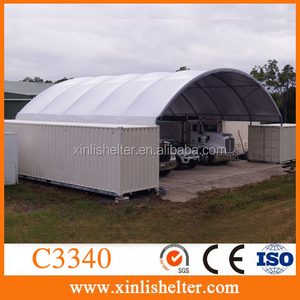 Xinli shelter C3340 contop container shelter equipment cover/storage tent
