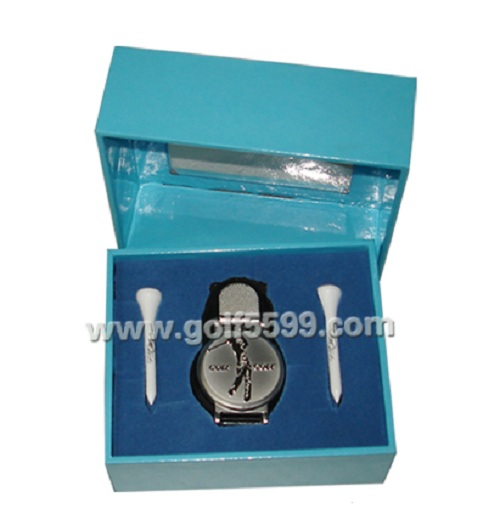 golf regalo orologio set