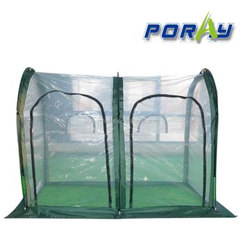 Tunnel Plastica Per Ortaggi.Poray Nuovo 1 5 M Alta Tunnel Giardino Serra Crescere Tenda Crescere
