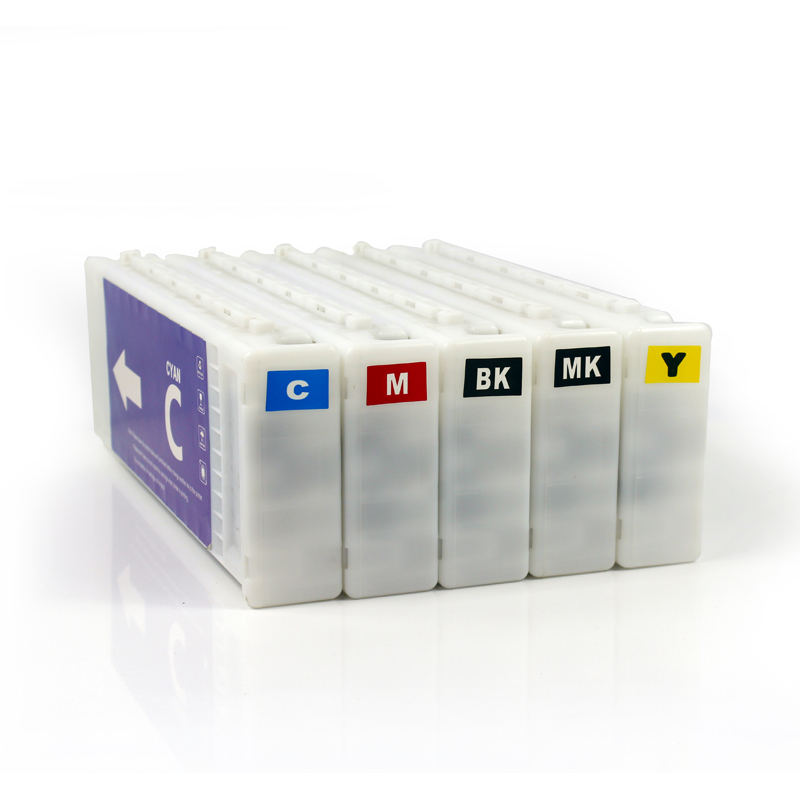 5 색 Compatible dn에 대한 epson al-300dnf 위한 Surecolor T3270 T5270 T7270 Ink Cartridge 700 미리리터