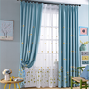 hot sale window curtains modern design with pattern