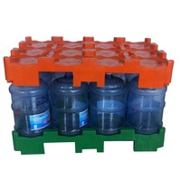Forklift Storage Stackable Durable 5 Gallon Water Bucket Plastic Pallet