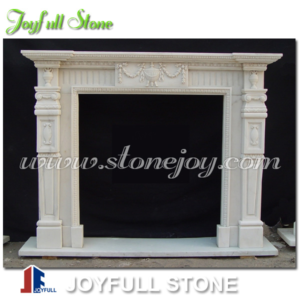 Column Fireplace / Fireplace Mantel, Column Fireplace / Fireplace ...