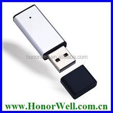 8GB 16GB 32GB 64GB slivery Usb 3.0 flash drive stick disk for gift or use 100% real high quality chip