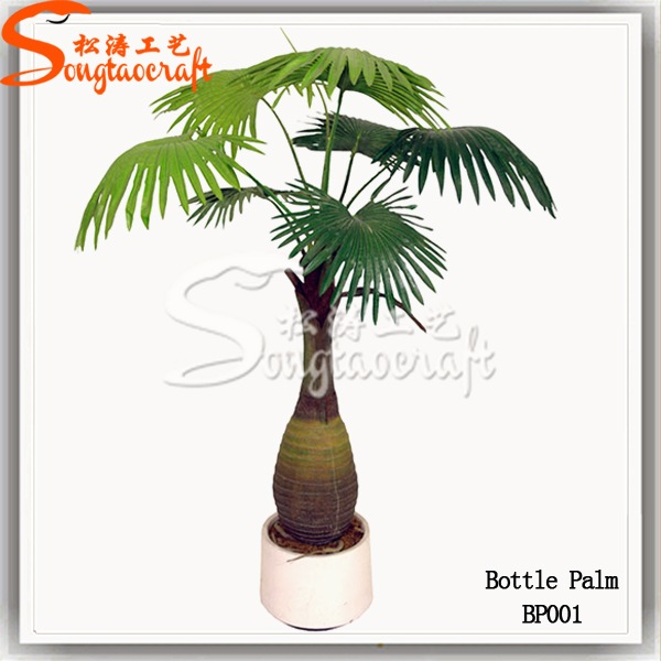 "Palm Tree Artificial 12"" Interior Decor Potted / dwarf palm trees"