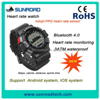 2017 newest smart heart rate watch factory with the last PPG heart rate sensor