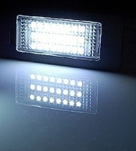 Vinstar tunning parts e mark approved super bright led license plate light for bm w e46 M3 CSL 2D Coupe