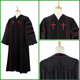 OEM Pastor robes church wholesale clergy robes