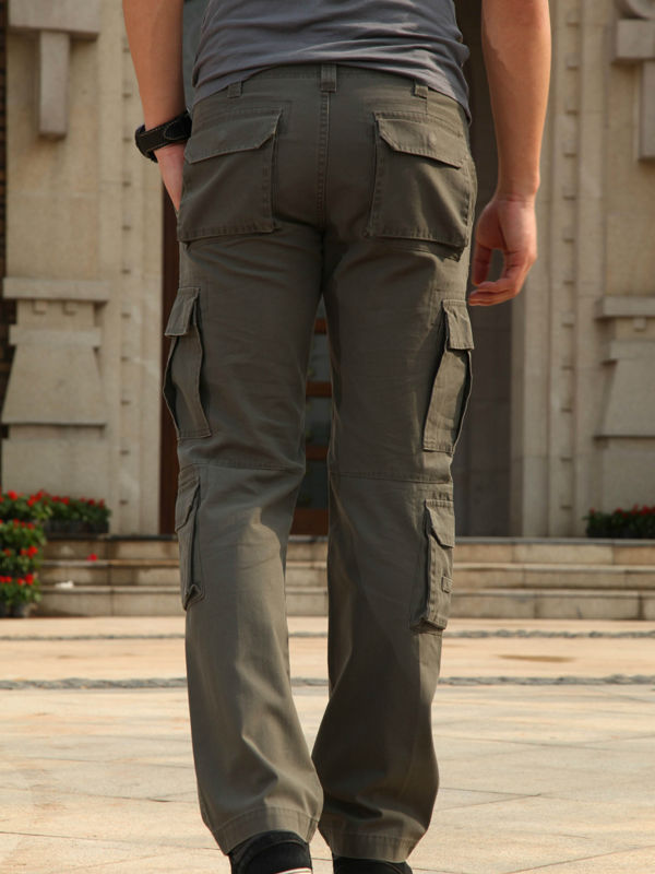 2016 Mens Cargo Pants With Many Pockets - Buy Cargo Six Pocket ...