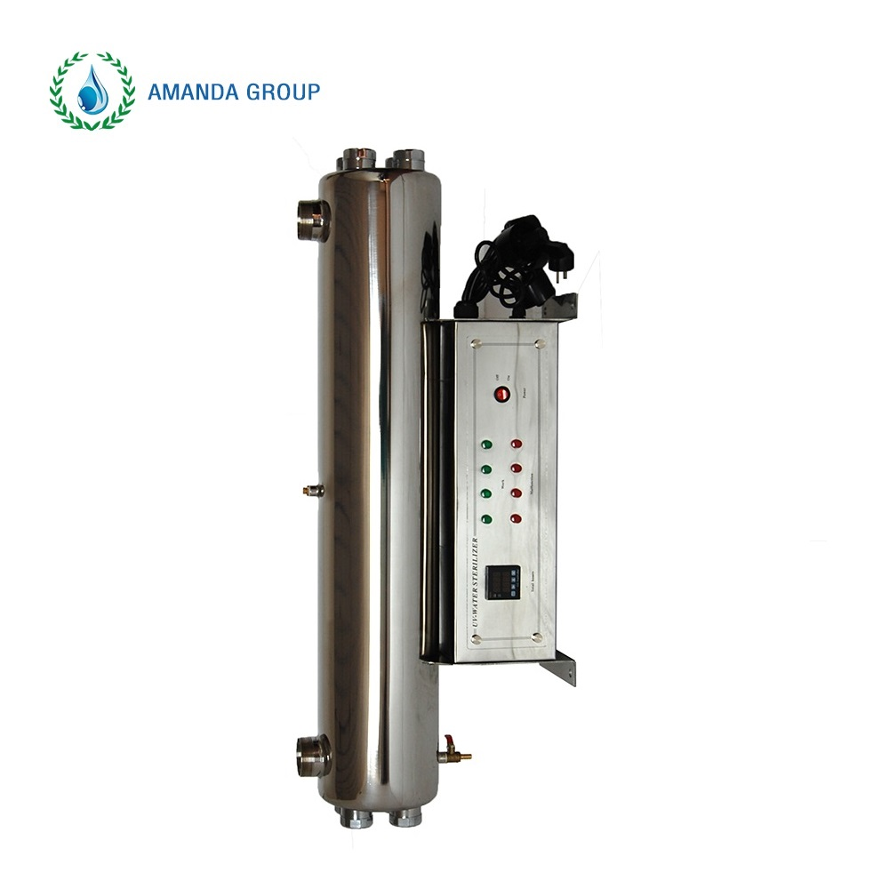 Disinfection water without chemicals alibaba 60t wonder uv water sterilizer
