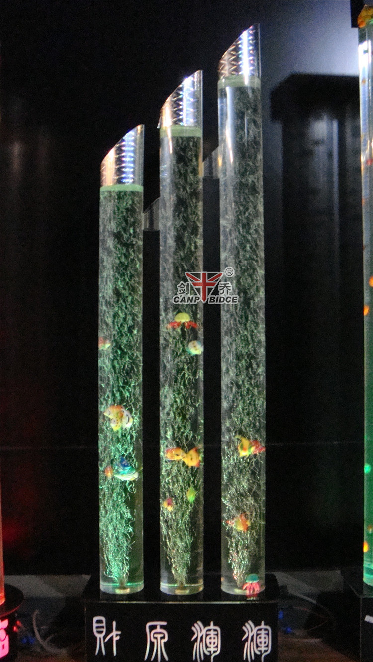 commercial fish aquariums standing floor lamps for hotel entrance, Reel Combo