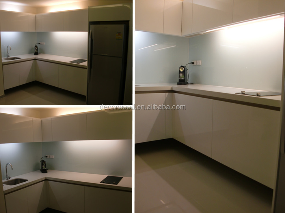 Best Quality Modern Mdf White Kitchen Design