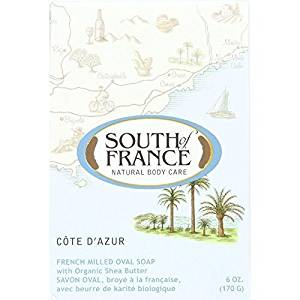 French Milled Oval Soap Cote d'Azur South of France 6 oz Bar Soap by South Of France
