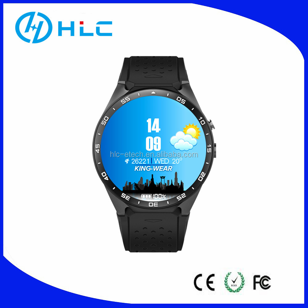 For Women Men,Android Smart watch Phone KW88,3G 2G,quad core,GPS Wifi With Heart Rate,Best Price