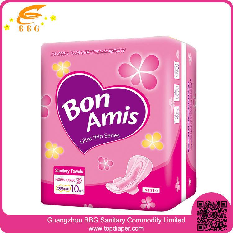 Wholesale Feminine Hygiene Product 280mm Lady Anion Sanitary ...