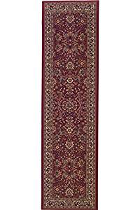 """Westminster Rug, 2'7""""x9'4"""", RED"""