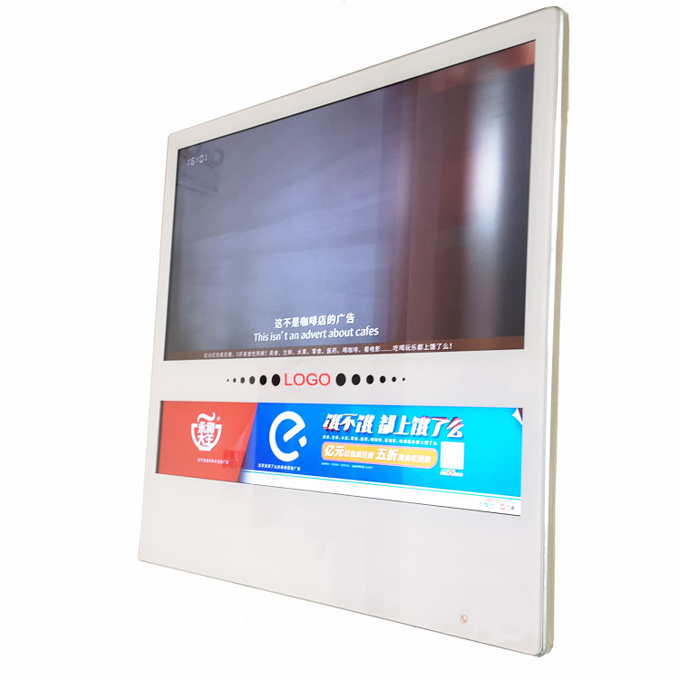 High quality customized outdoor elevator advertising lcd screen display of glass price