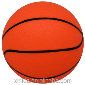 Cheap price neon inflated PVC toy ball beach basketball for wholesale