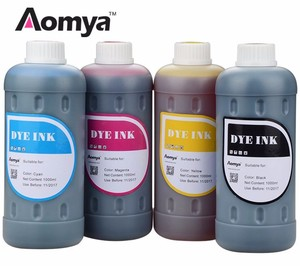 Hot dye ink for external ink tank for hp printers